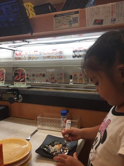 かっぱ寿司でいくら
