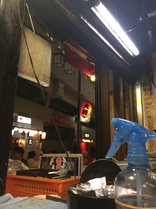 高円寺2号店のカウンター
