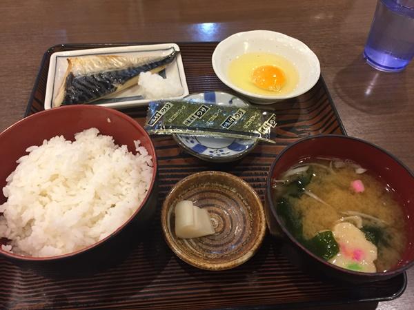 コスコ朝定食