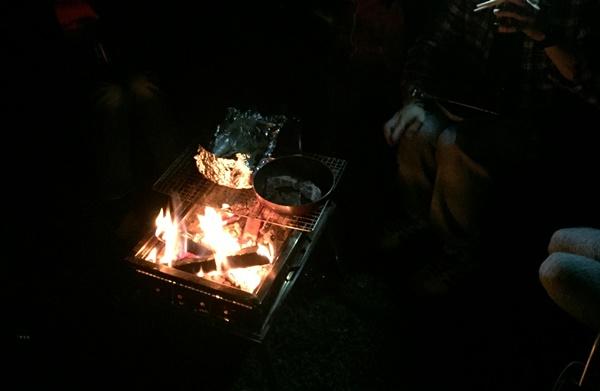 焚火BBQ