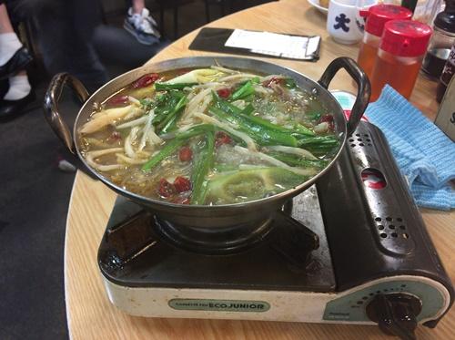 高円寺大将3号店の鍋