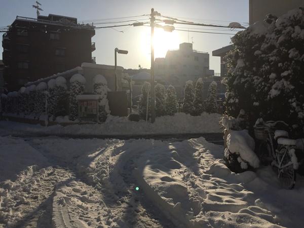 2018年大雪東京