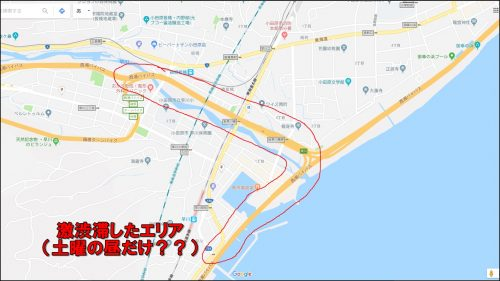 西湘バイパス渋滞した