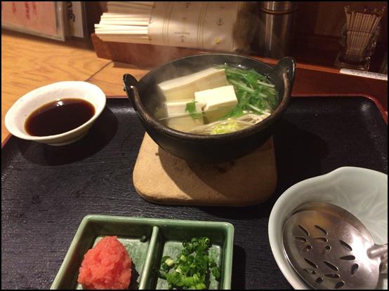 じみち湯豆腐