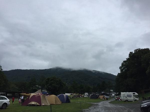 雨模様のスプラッシュガーデン