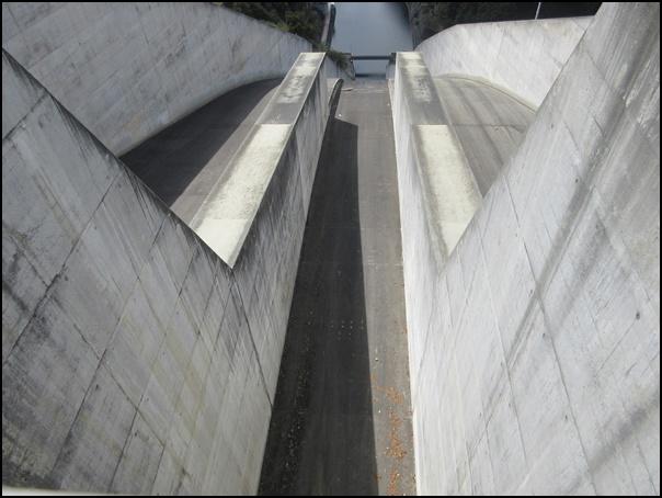 奈良俣ダム高所