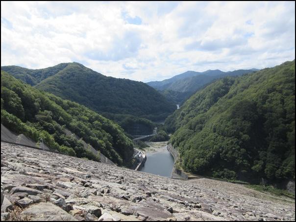 奈良俣ダム景観