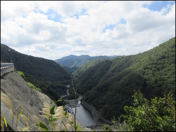 奈良俣ダム景観良い