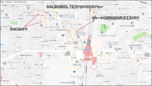 所沢駅居酒屋マップ