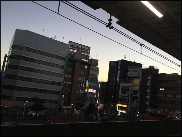 高円寺駅のホーム