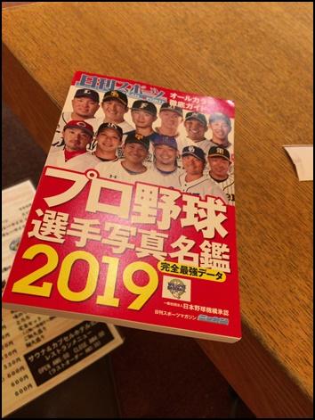 プロ野球選手名鑑2019