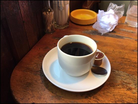 喫茶アンデス コーヒー
