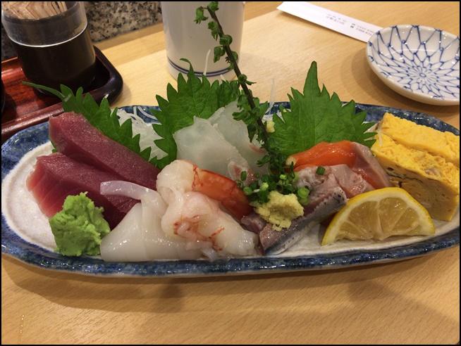 魚がし鮨 刺し盛