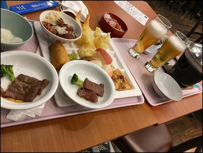伊東園ホテルバイキング夕食