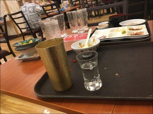 sake  とどろき 夕食バイキング 酒