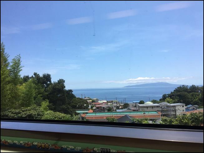 densyakaraumi 電車からの景色