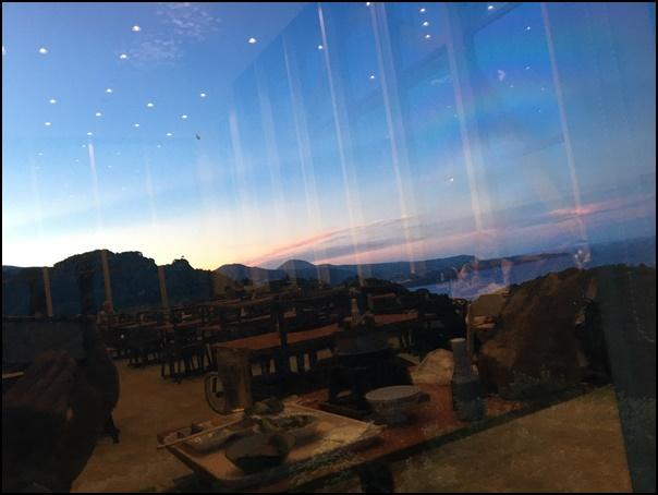 restrankaranokeshiki 食堂からの景色